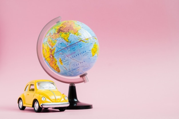 Reizen concept. planning van zomervakanties
