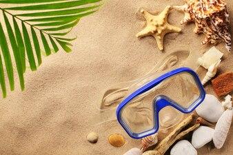 Reizen en toerisme op het strand