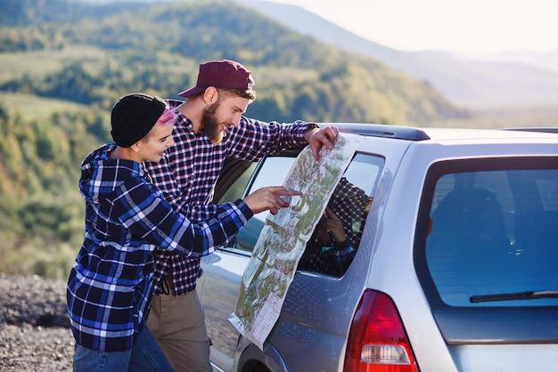 Reizen, toerisme en vriendschap concept.