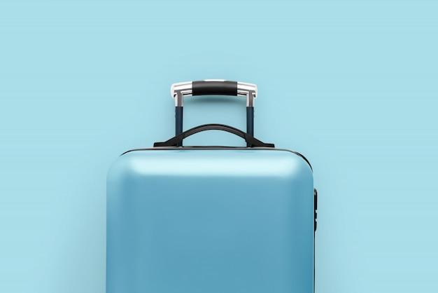 Reizen & vliegtuig concept met de bagage