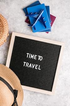 Reizende reis concept vakantie vakantie