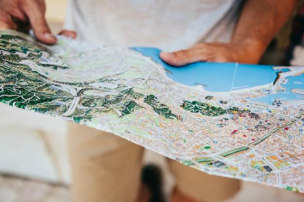 Reiziger's kaart