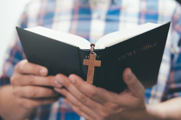 Religie christendom concept achtergrond.