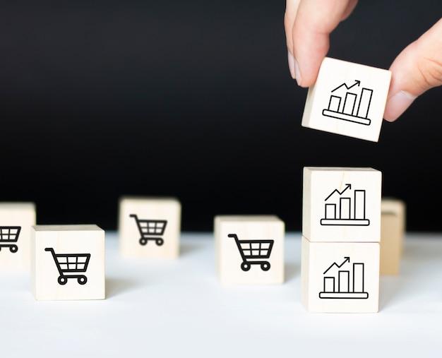 Rentetarieven financiële en hypotheekrentetarieven concept.