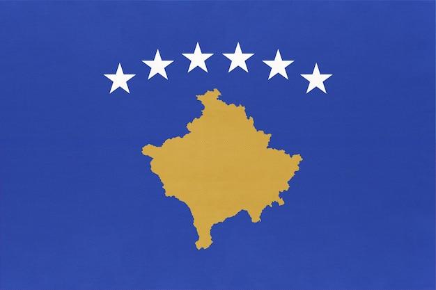 Republiek kosovo nationale vlag