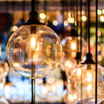 Retro edison licht decor