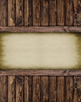 Retro papieren pagina notebook.wood getextureerd. oppervlakken.