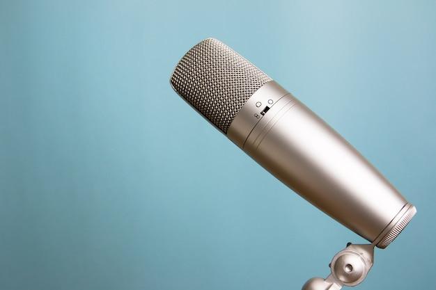 Retro-stijl microfoon
