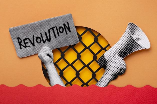 Revolutie stilleven ontwerp