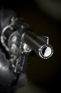 Revolver schieten
