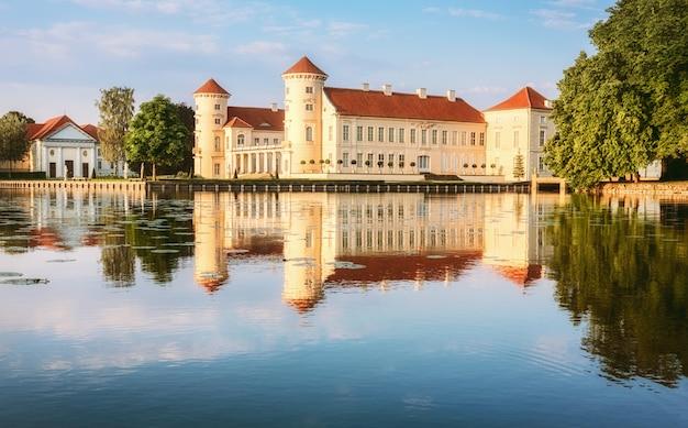 Rheinsberg castle in ostprignitz-ruppin, duitsland