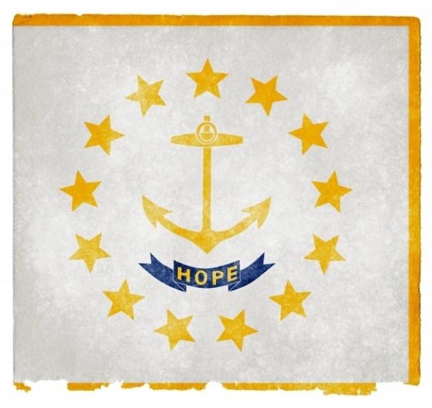 Rhode island grunge vlag