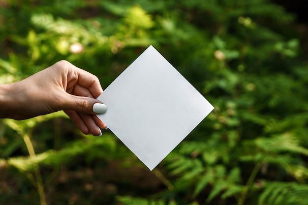 Rhombus papieren lijst