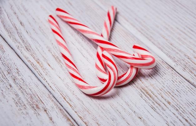 Riet van het suikergoed van kerstmis