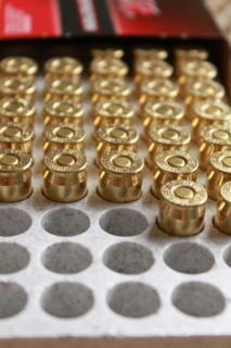 Rijen van kogels, munitie