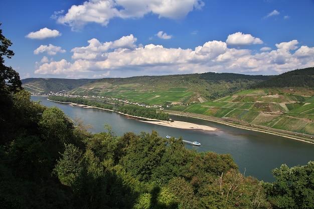 Rijnvallei in west-duitsland