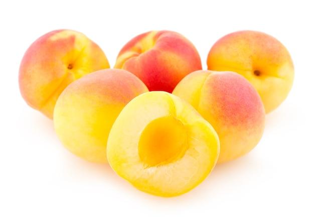 Rijpe abrikozen
