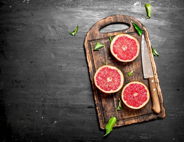 Rijpe grapefruits.