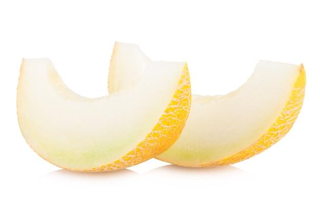 Rijpe meloenschijfjes