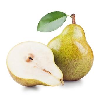 Rijpe peren geïsoleerd