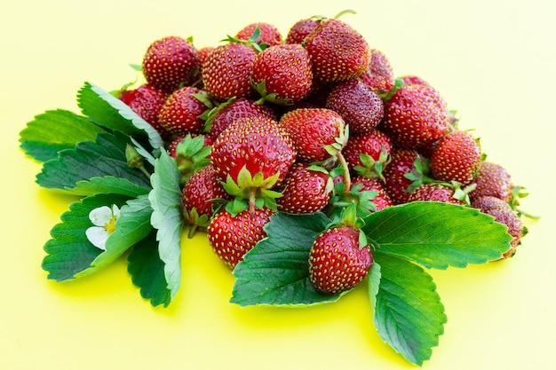 Rijpe verse aardbeien