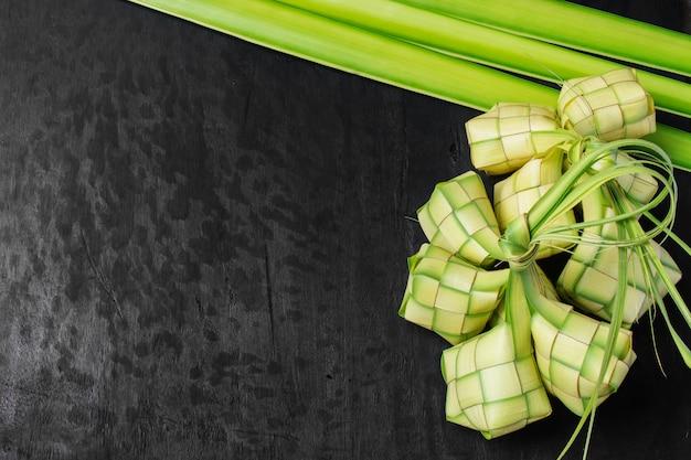 Rijst knoedel blad