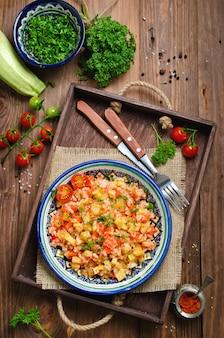 Rijstpilau met groenten