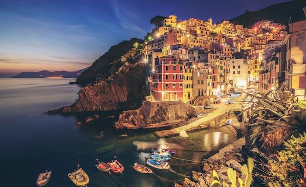 Riomaggiore, cinque terre - italië