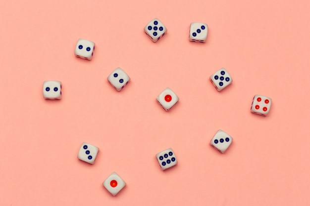 Risicoconcept - dobbelstenen spelen