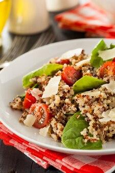 Risotto met champignons en groenten