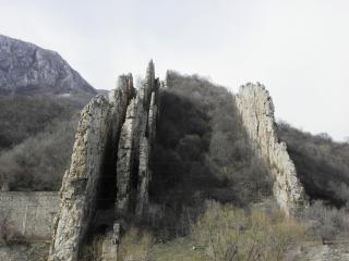 Ritlite-rotsformatie in de iskar gorg