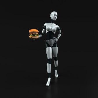 Robot - 3d-afbeelding