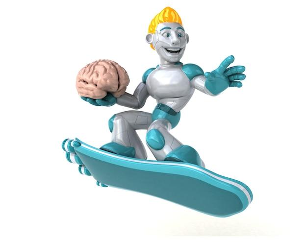 Robot - 3d illustratie