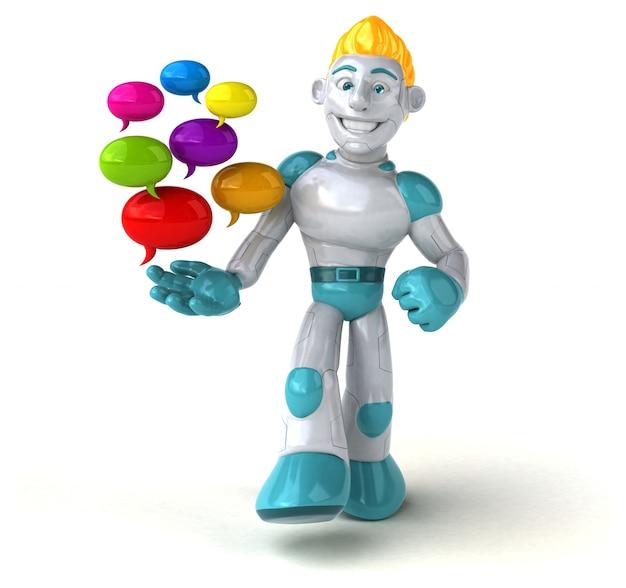 Robot 3d illustratie