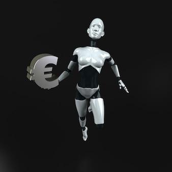 Robot - 3d-personage