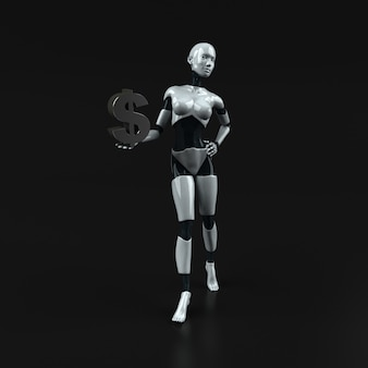 Robot illustratie