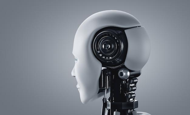 Robot toekomstige technologie kunstmatige intelligentie ai machine learning