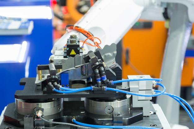 Robotarm aan het werk