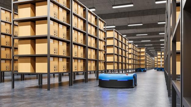 Robots sorteren efficiënt honderden pakketten per uur