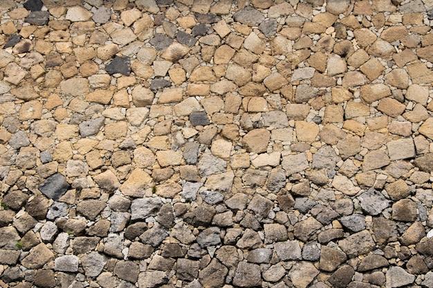 Rock, stenen muur achtergrond