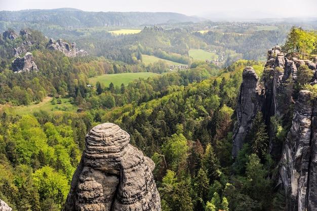 Rocky mountains, wilde europese natuur