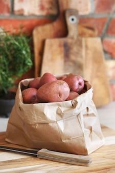 Rode aardappelen