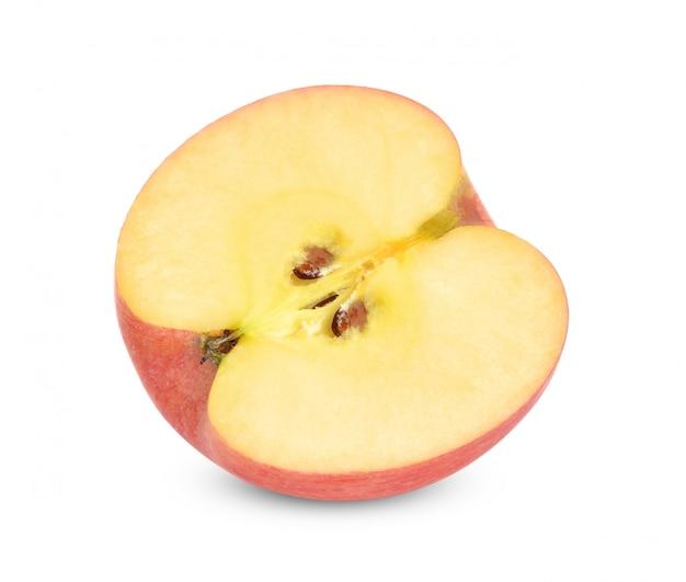 Rode appel geïsoleerd