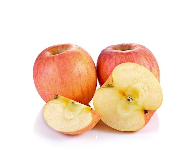 Rode appels geïsoleerd