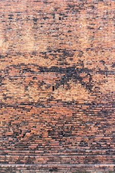 Rode bakstenen muur achtergrond