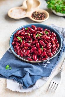 Rode bonen ingeblikt gezond ketogeen of paleodieet