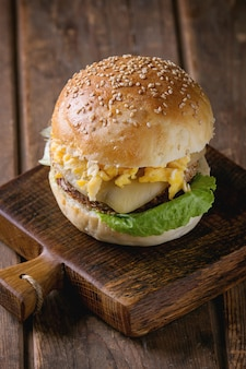 Rode bonen veggie burger