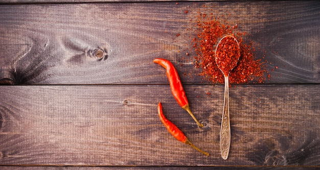 Rode chili peper