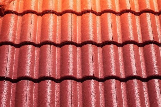 Rode dakpannen
