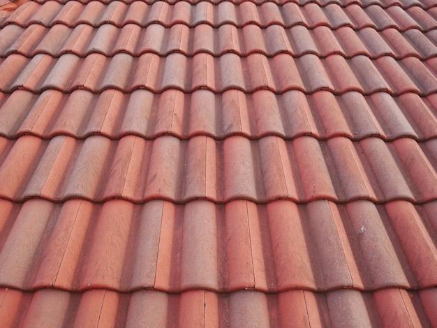 Rode dakpans textuur achtergrond